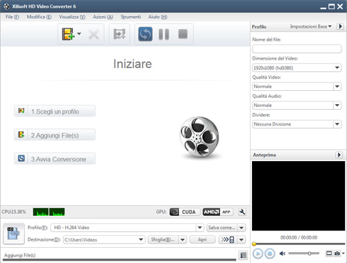 Xilisoft Convertitore Video HD