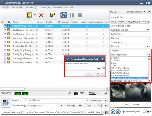 Come Convertire Video HD con Xilisoft HD Video Converter